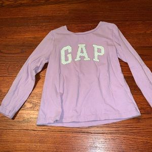 Purple gap Longsleeve